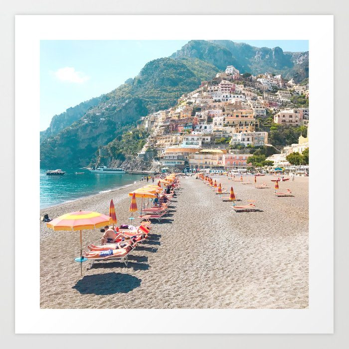 perfect beach day - Positano, Italy