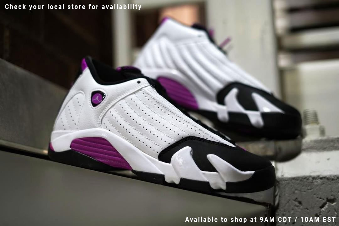 new product 35615 74825 Available today: Jordan Retro 14