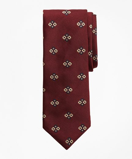 Limited Edition Archival Collection Floral Silk Jacquard Tie
