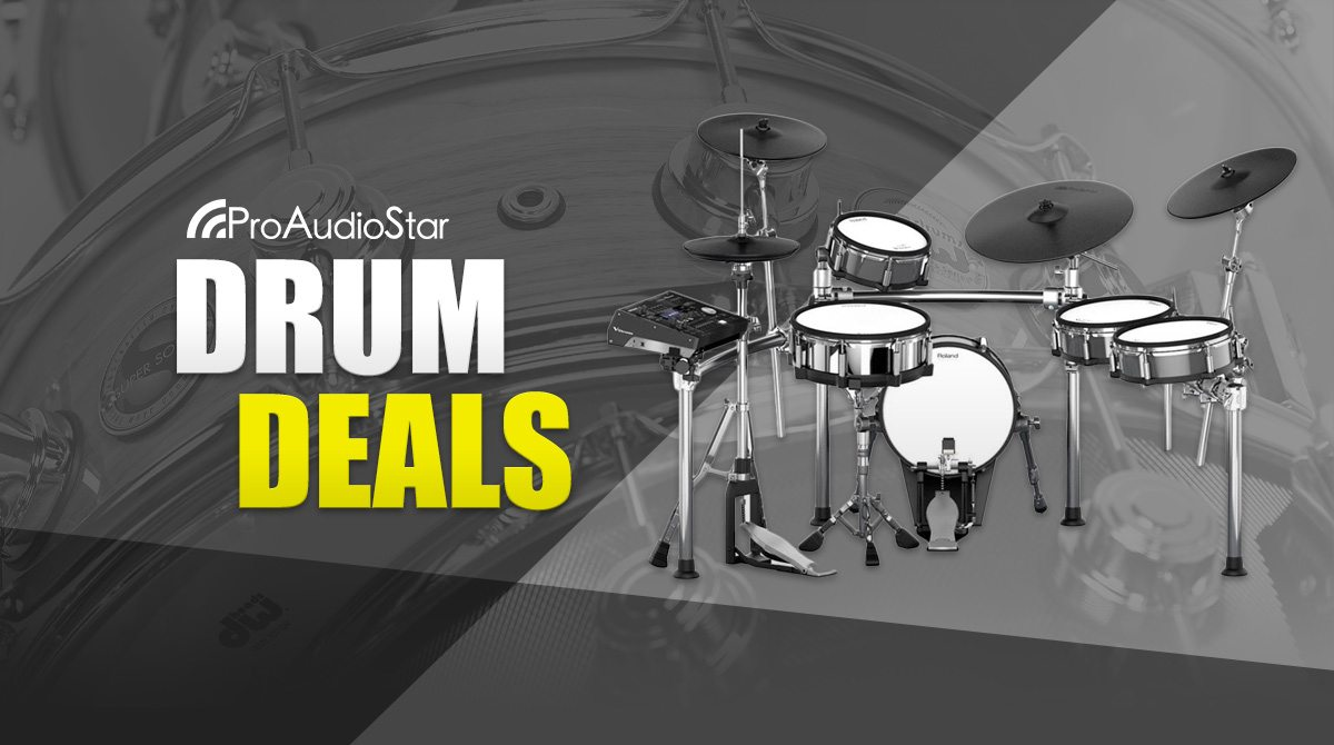 Big Drum & Drum Accesory Discounts! Limited Time Offer!
