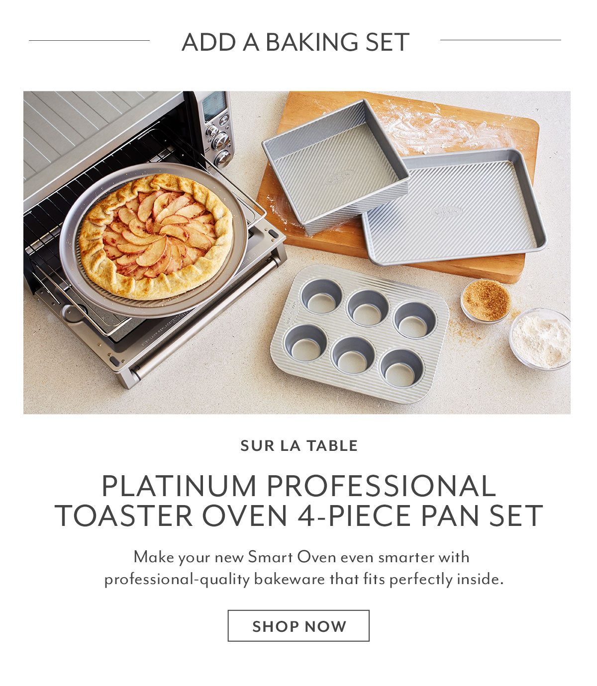 Toaster Oven 4-PC Pan Set