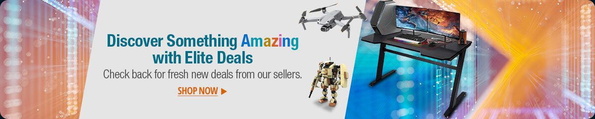 Discover Something Amazing with Elite Deals