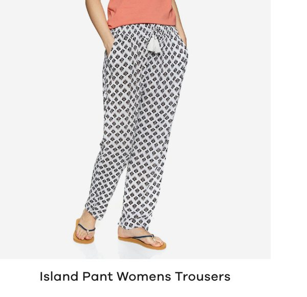 Rip Curl Island Pant Womens Trousers
