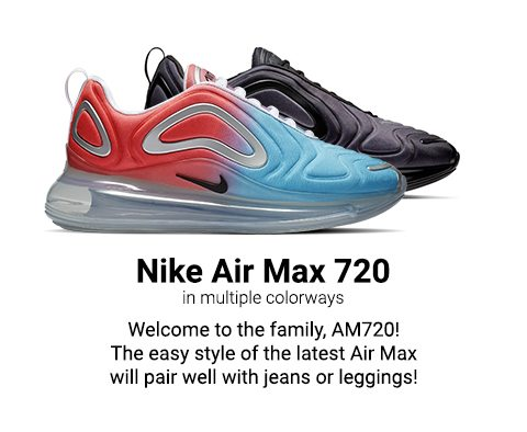 ca5276a876ca New release  Nike Air Max 720 and adidas Sleek—available 2.28 - Lady ...