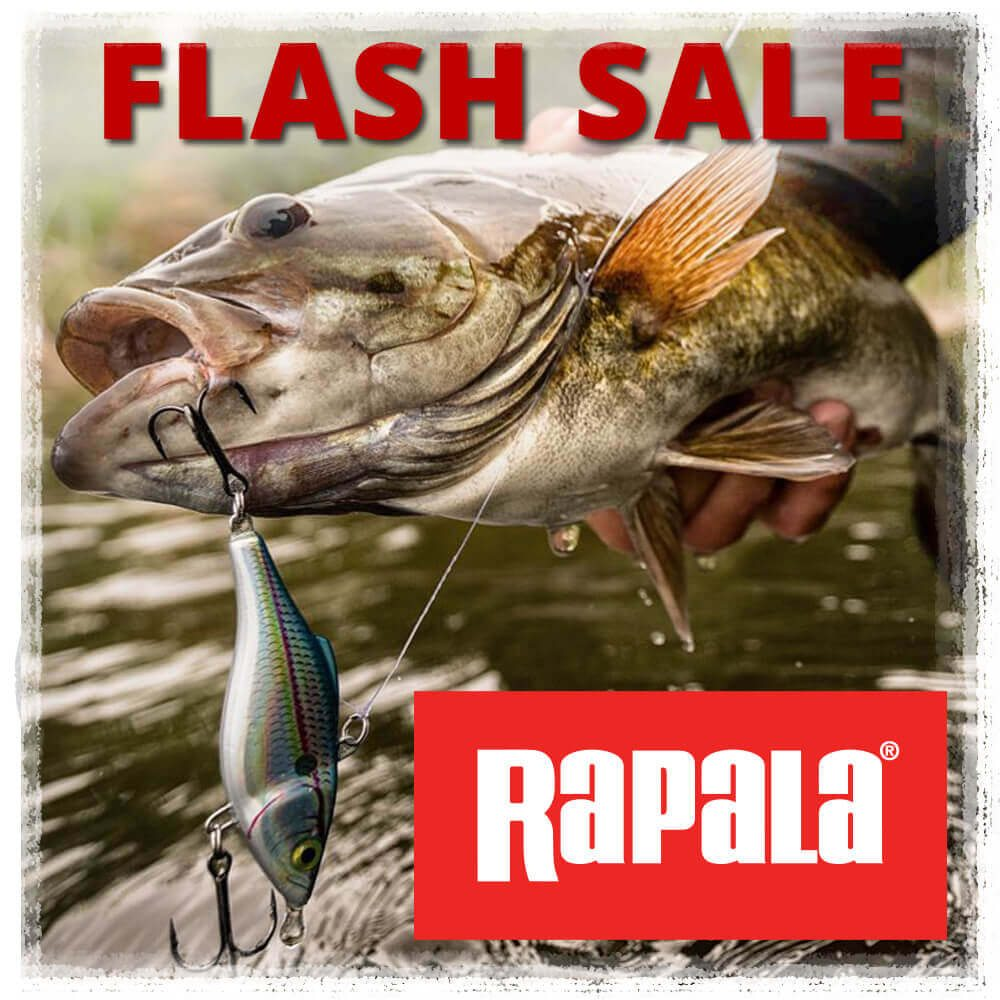 FLASH SALE Take 20% off in-stock Rapala Lures
