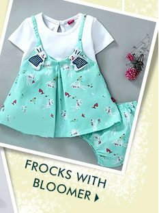 Frocks With Bloomer