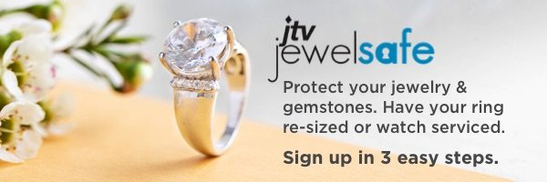 Keep your sparkling treasures safe with our Jewel Safe Protection plan.