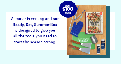 Summer is coming and our Ready, Set, Summer Box is designed to give you all the tools you need to start the season strong. | Over $100 value