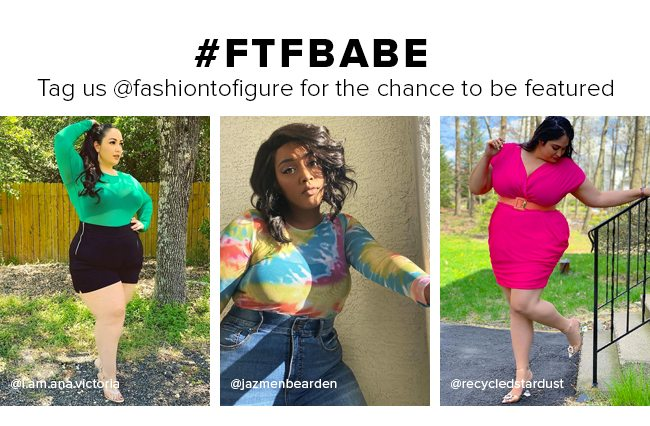 FTF Babe. Tags @fashiontofigure for a chance to be featured.