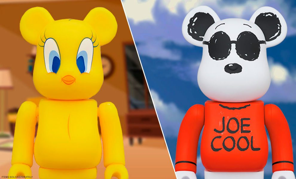 NEW Be@rbrick Collectibles by Medicom Toy