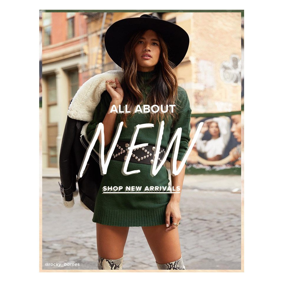 All About New - Shop New Arrivals