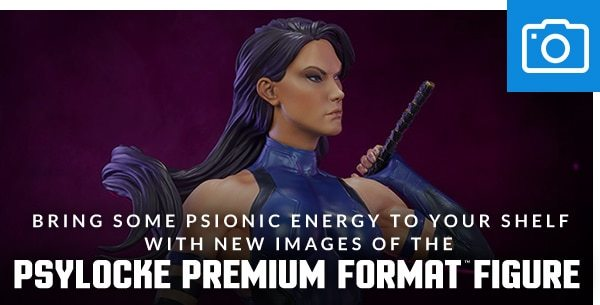 New Images of the Psylocke Premium Format™ Figure
