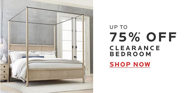 Up to 75% Off Clearance Bedroom