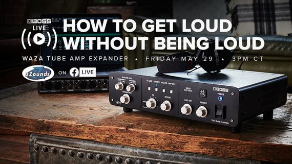 Expand the capabilities of your tube amp with the Waza Tube Amp Expander!