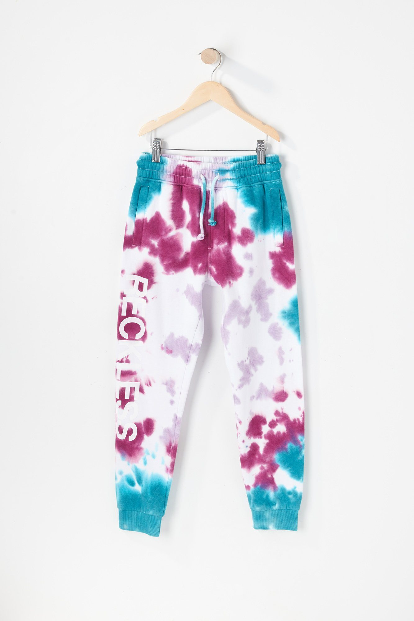 Image of Young & Reckless Youth Tie Dye Jogger