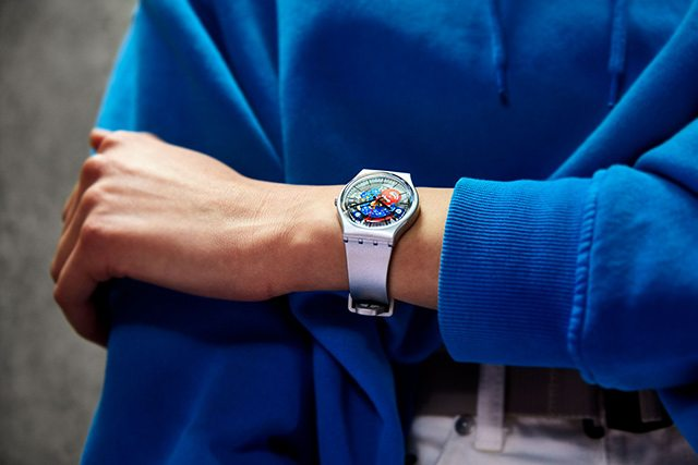 ONE GIANT LEAP FOR SWATCH