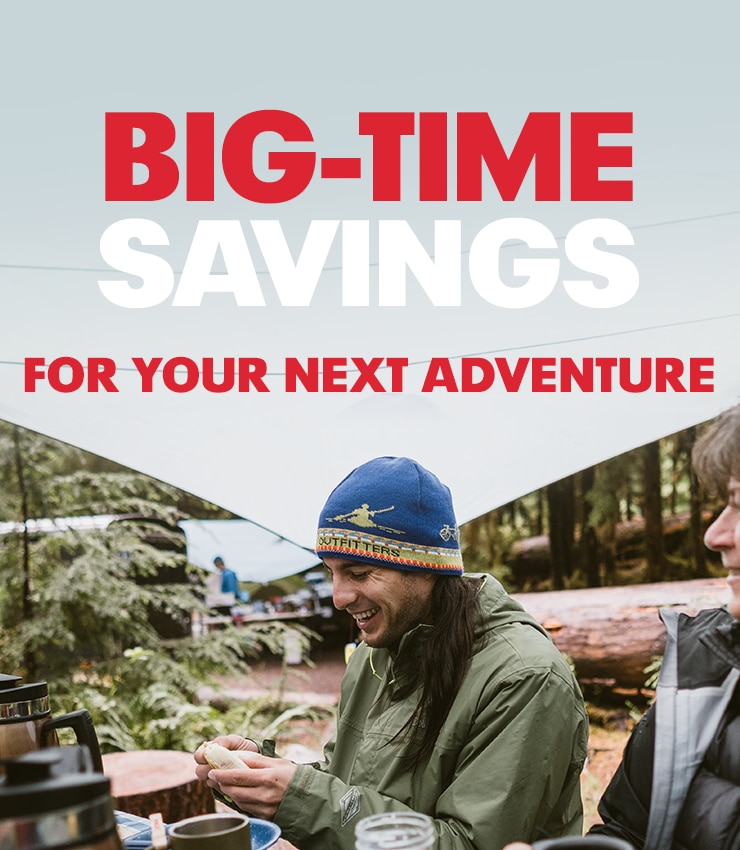 Big-time savings for your next adventure