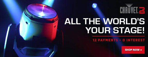 All the world's a stage with Chauvet DJ!
