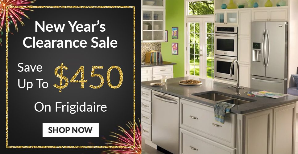 New Year's Clearance Frigidaire Sale