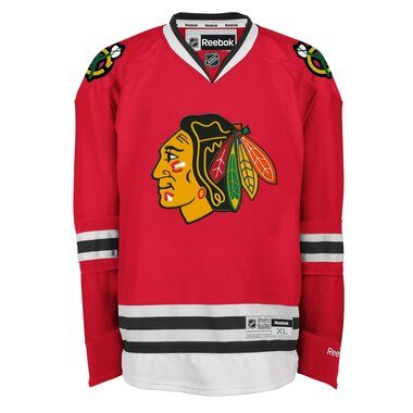 Reebok Chicago Blackhawks Mens Premier Home Jersey - Red
