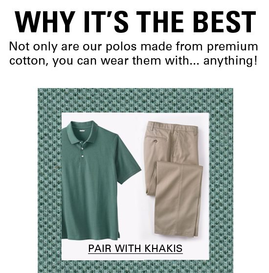 Pair With Khakis