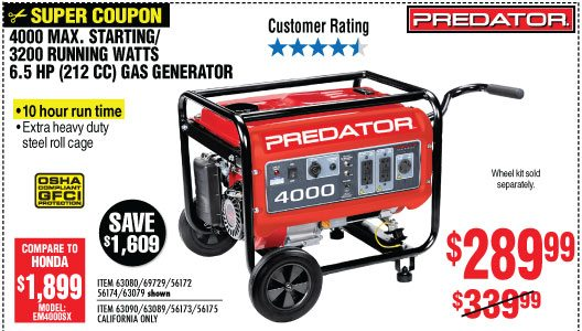 Save Up To 92% • 3 Day Sale Starts Friday - Harbor Freight Tools