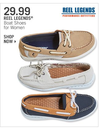 Shop 29.99 Reel Legends Boat Shoes for Women
