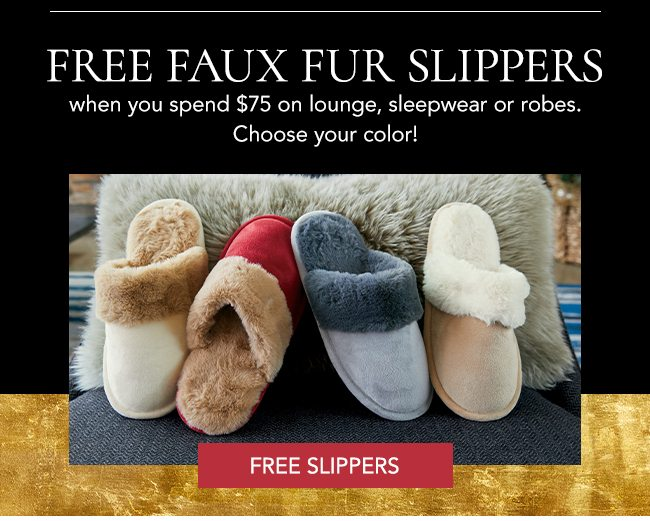 Free slippers