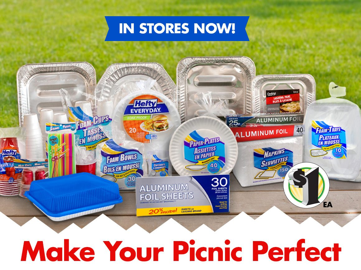 Shop $1 Disposable Tableware!