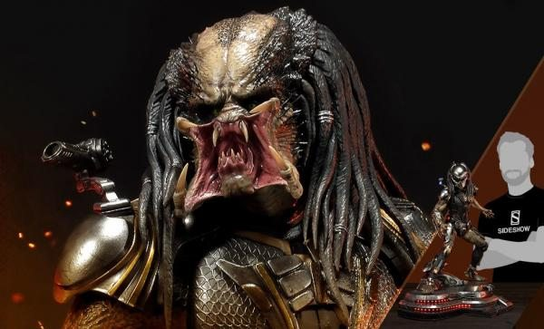 NOW AVAILABLE - ONLY 500 WORLDWIDE Fugitive Predator Deluxe Version Statue by Prime 1 Studio