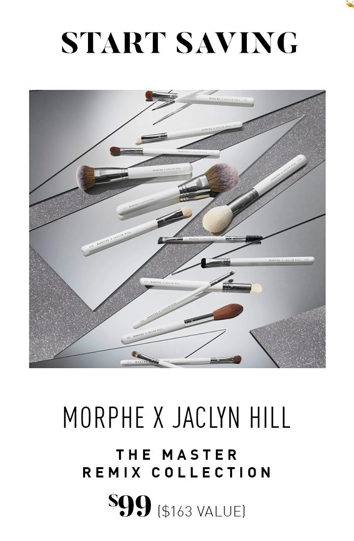 Morphe X Jaclyn Hill The Master Remix Collection $99 ($163 VALUE)