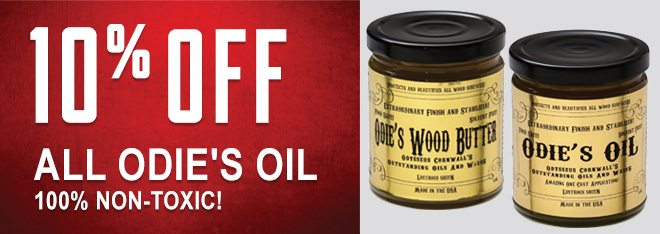 10% Off All Odie's Oil 100% Non-Toxic!