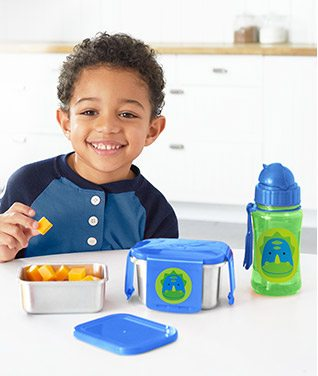 sip, snack, LUNCH!   Everything tastes better when you set the table with ZOO® mealtime must-haves!