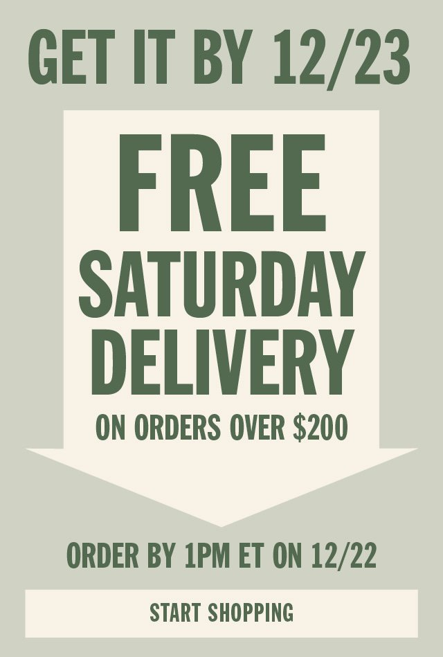 You Ve Still Got Time Get It By 12 23 With Free Saturday Delivery