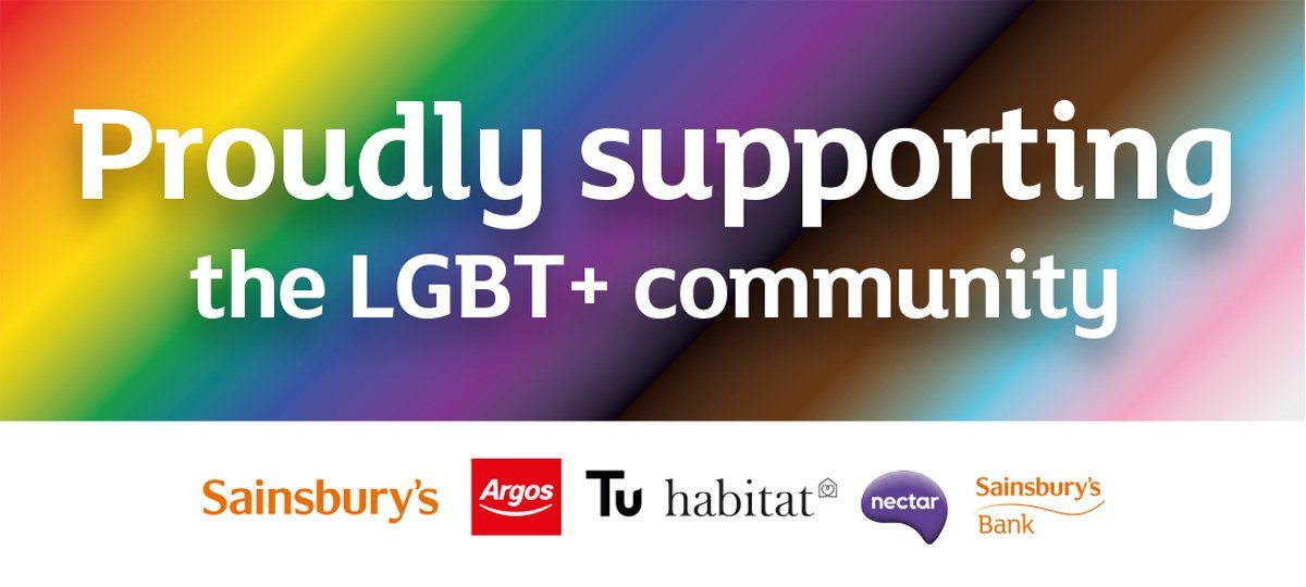 Proudly supporting the LGBT+ community