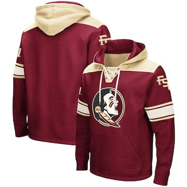Florida State Seminoles Colosseum 2.0 Lace-Up Hoodie - Garnet