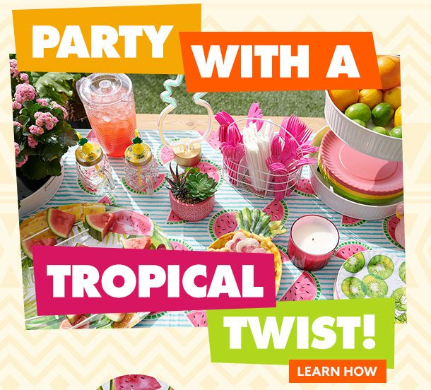 Party with a Tropical Twist
