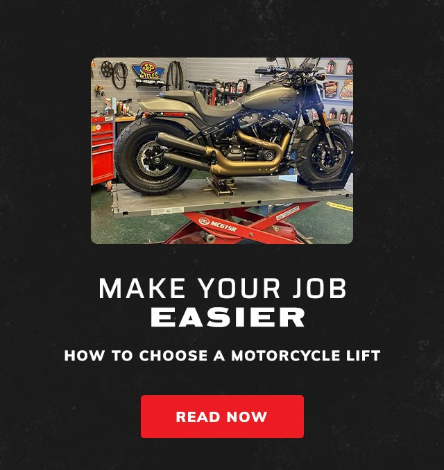 How to choose a motorcycle lift