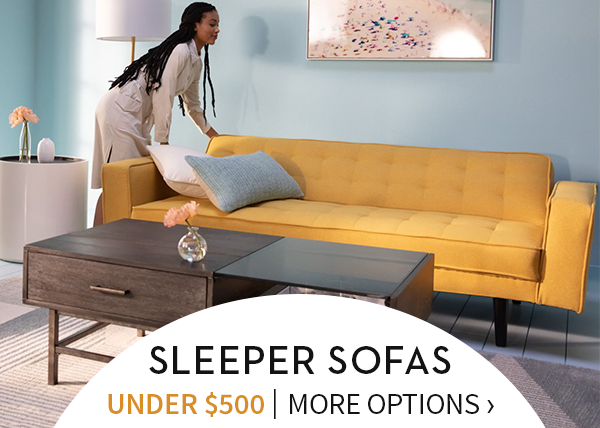 Stupendous Oh Yes Sleeper Sofas Under 500 Living Spaces Email Creativecarmelina Interior Chair Design Creativecarmelinacom