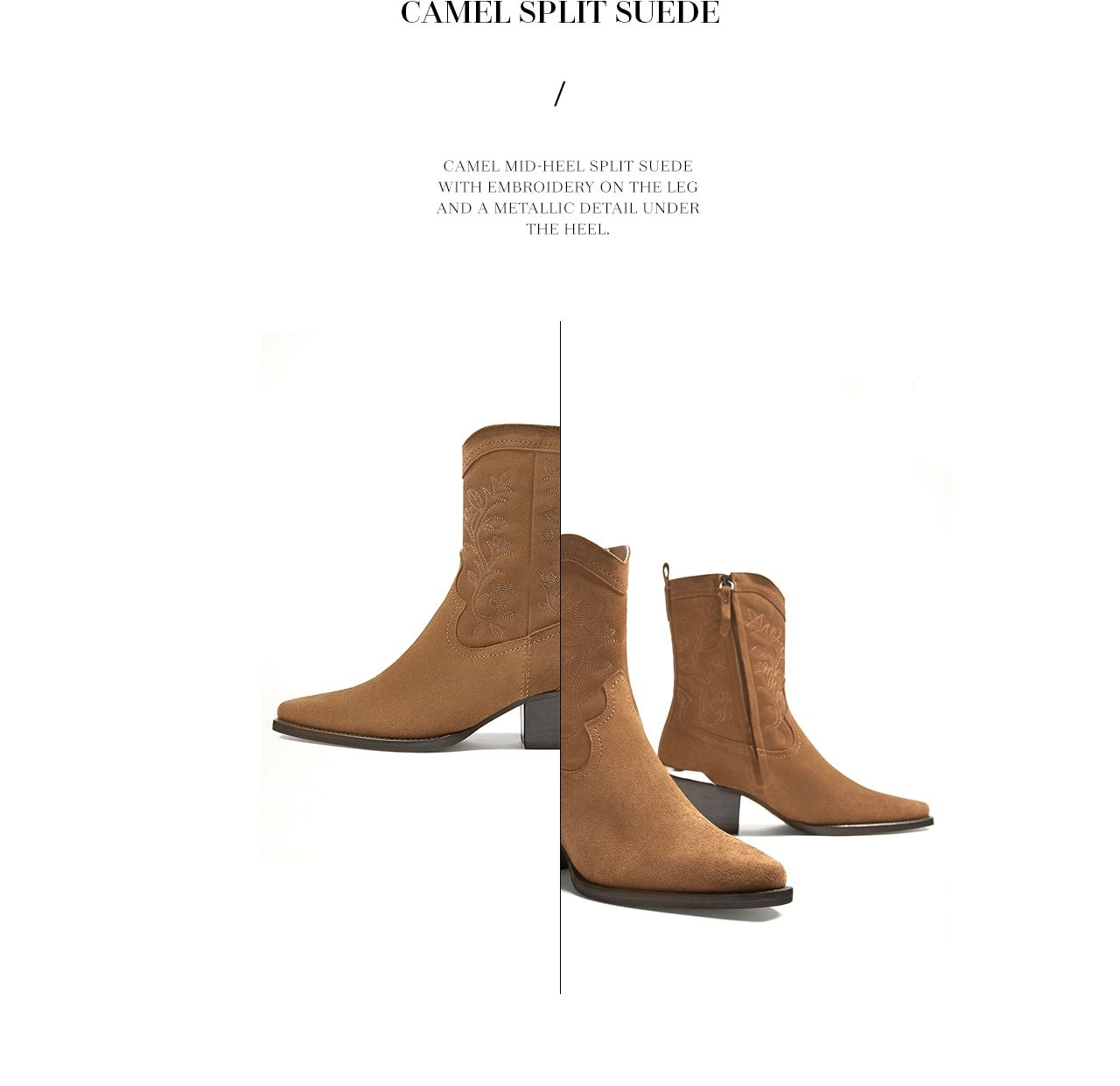 5cf2b592cad Women's Selection | Cowboy boots - Massimo Dutti Email Archive