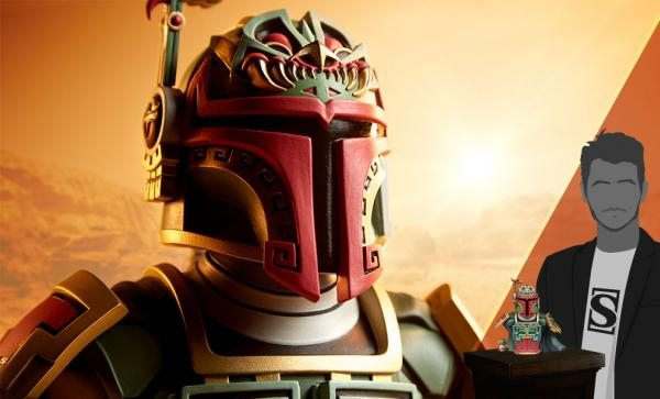 Boba Fett Designer Collectible Figure by Unruly Industries