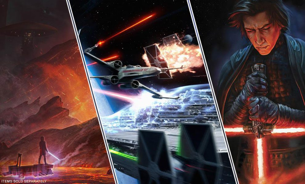NEW Star Wars Art Prints by ACME Archives
