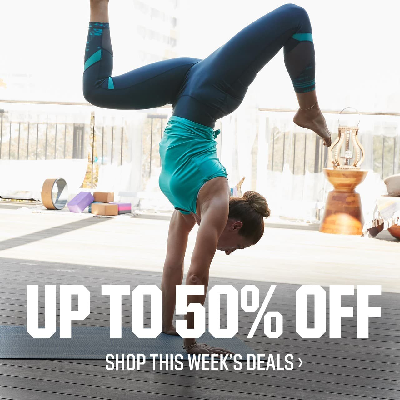 UP TO 50% OFF | SHOP THIS WEEK'S DEALS >