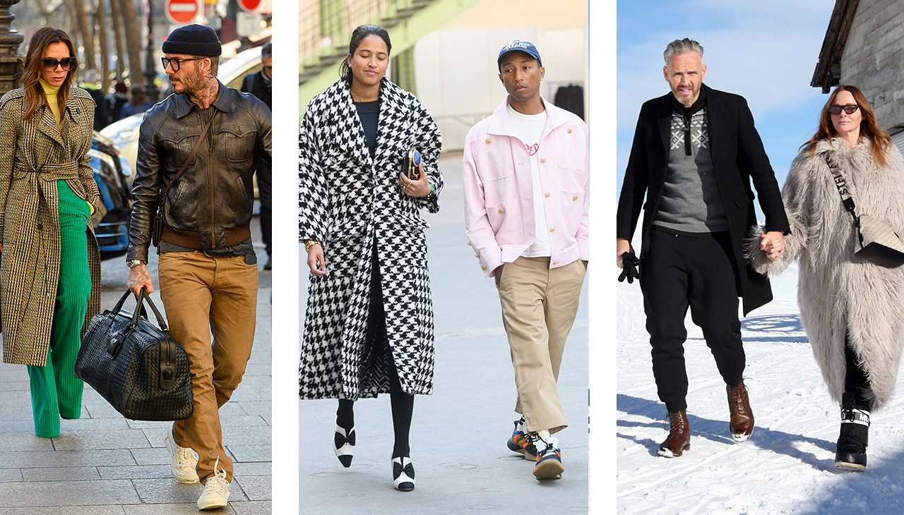 The Best-Dressed Couples Of January 2020