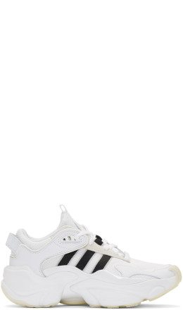 adidas Originals - White & Black Tephra Sneakers
