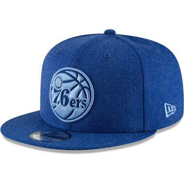 New Era Philadelphia 76ers Royal Twisted Frame 9FIFTY Adjustable Hat