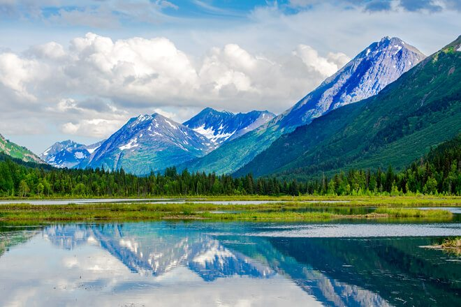 Discover the unparalleled beauty of Alaska's backcountry in the Kenai National Wildlife Refuge.