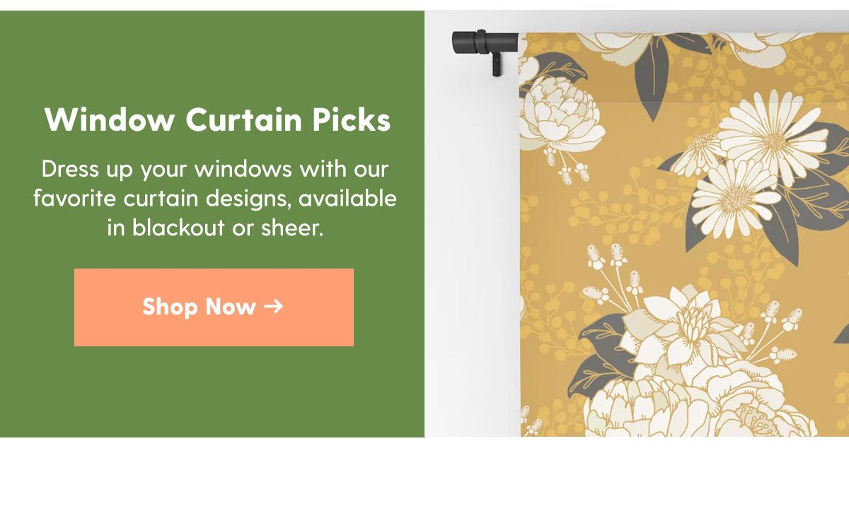 Window Curtain Picks