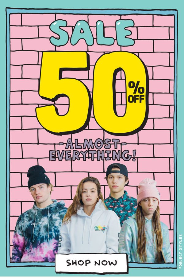 SALE 50% OFF Almost Everything