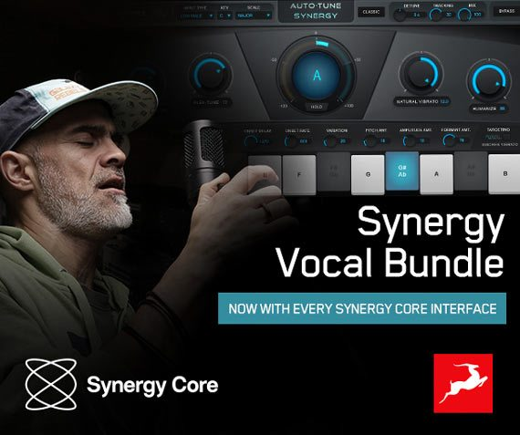 Get Auto-Tune Synergy and Vocal Bundle plug-ins for FREE!